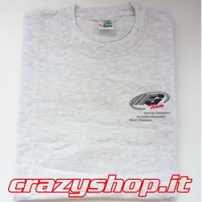 FG T-Shirt FG Grigio Chiaro, Taglia XXL