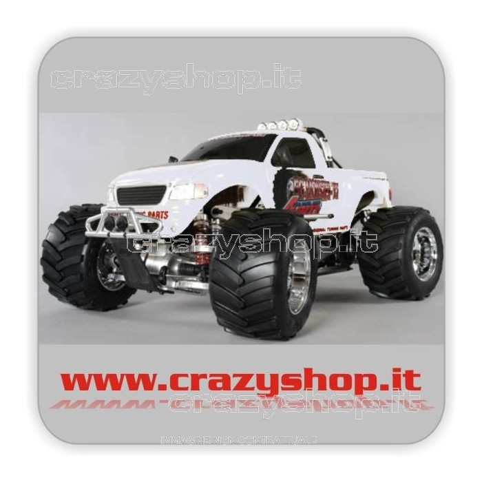 FG Monster Truck 26cc Clear Body 1:6