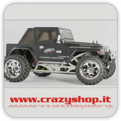 FG Monster Jeep 26cc Black Body 1:6