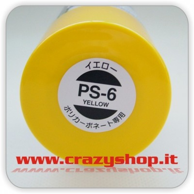 Colore Spray PS06 Giallo