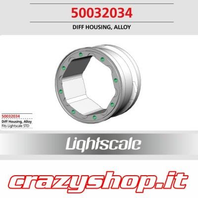 Cassa per Differenziale in Alluminio