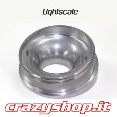Adattatore Inclinato di 10° in Alluminio per Airbox GT Lightscale
