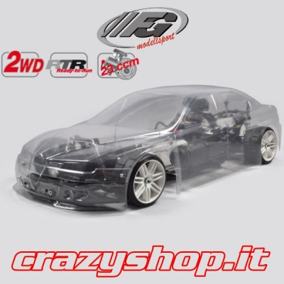 FG New Sport. 2WD RTR + Body Alfa Romeo