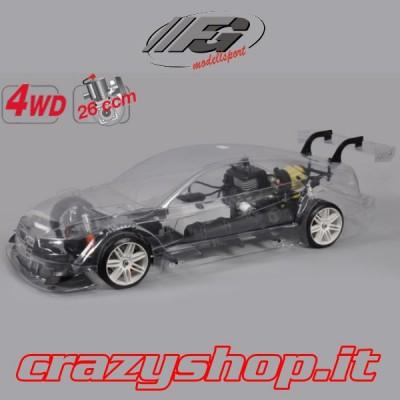 FG 4WD Telaio 530mm. + Body Audi RS5