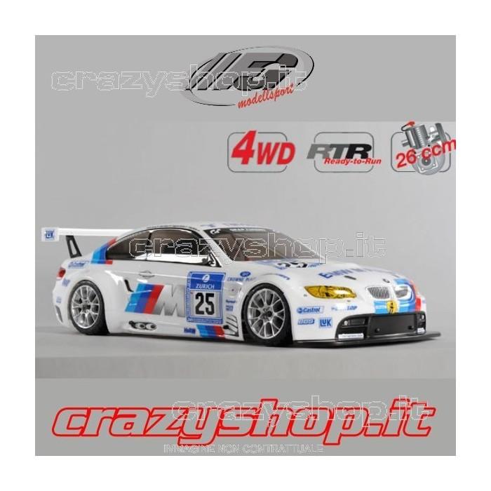 FG 4WD Telaio 530mm. + Body BMW 320si