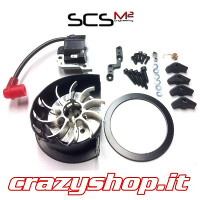 SCS Power Fan Wheel 72 Off-Road Set