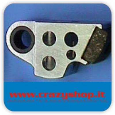 Corpo in Alluminio Frizione 2 Ceppi