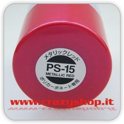 Colore Spray PS15 Rosso Metallizzato