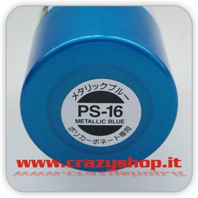 Colore Spray PS16 Blu Metallizzato