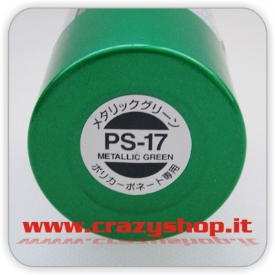 Colore Spray PS17 Verde Metallizzato