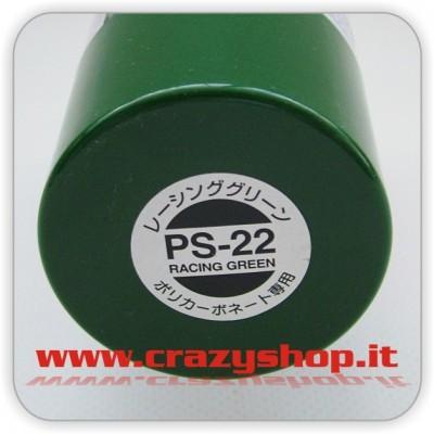 Colore Spray PS22 Verde Racing