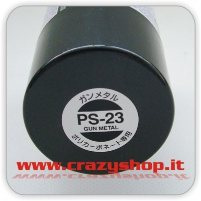 Colore Spray PS23 Gun Metal
